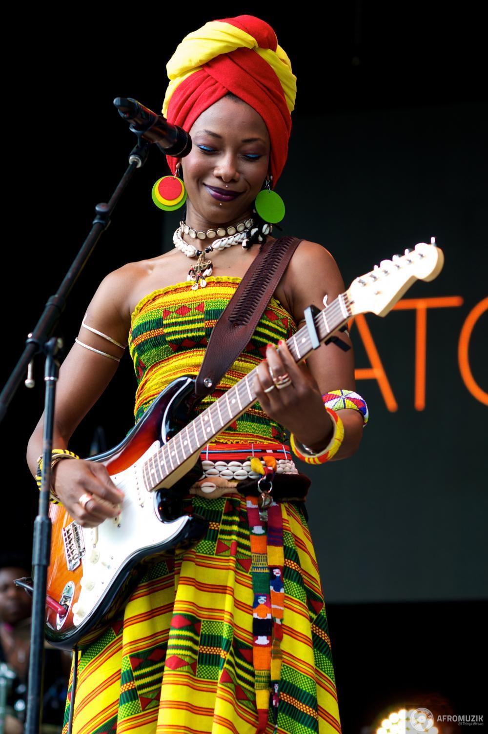 Fatoumata Diawara Article Fatoumata Diawara Live at Central Park39s